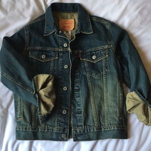 Women's Levi Strauss Denim Jacket - Size: M